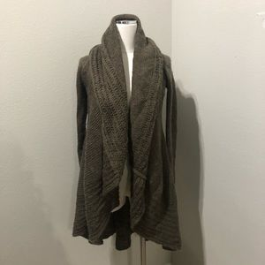 Crocheted Cardigan Sweater